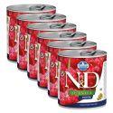 Farmina N&D dog Quinoa Digestion konzerv 6 x 285 g, 5+1 GRÁTISZ