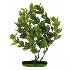 Akváriumi műnövény, 25 cm gömbölyű zöld