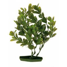 Növény akváriumba - műanyag, 28 cm zöld levelek
