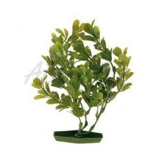 Akváriumi műnövény - zöld levelek, 17 cm