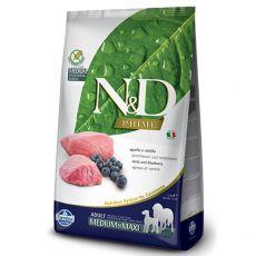 Farmina N&D Prime dog GF MEDIUM & MAXI Lamb & Blueberry 2,5 kg