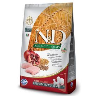 Farmina N&D dog LG MEDIUM & MAXI Chicken & Pomegranate 12 kg