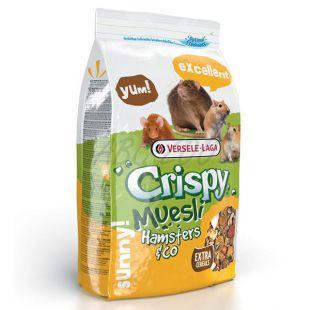 Crispy Muesli Hamsters & Co – rágcsálótáp, 1 kg