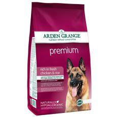 ARDEN GRANGE Premium rich in fresh chicken & rice 2 kg