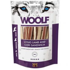 WOOLF Long Lamb and Cod Sandwich 100g
