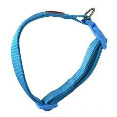 Kék színű neoprén nyakörv 25-40 cm / 15 mm, S