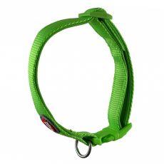 Zöld színű neoprén nyakörv 25-40 cm / 15 mm, S