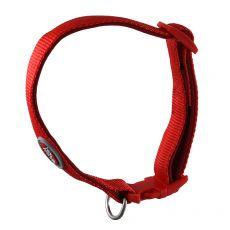 Piros színű neoprén nyakörv 25-40 cm / 15 mm, S