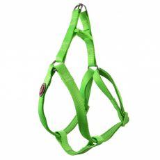 Zöld színű neoprén hám 37-50 cm / 15 mm, S