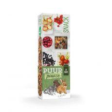 PUUR PAUZE sticks Forest Friut - pálcikák erdei gyümölcsökkel rágcsálók számára 2 db