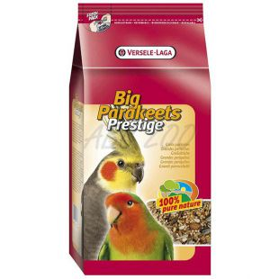 Big parakeets 1 kg - közepes méretű papagáj táp