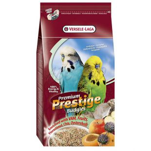 Budgies Premium 1 kg - táplálék hullámos papagájnak