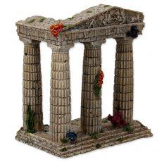 Akvárium dekoráció katedrális romok 15,5 x 9,5 x 16,2 cm