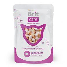 Brit Care Cat Seabream alutasakos eledel 80 g