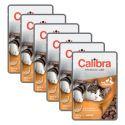 CALIBRA Cat Adult kacsa és csirke darabok szószban 6 x 100 g