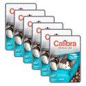CALIBRA Cat Adult pisztráng és lazac darabok szószban 6 x 100 g