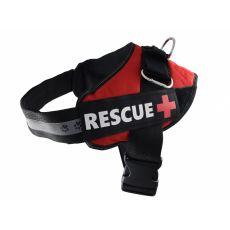 Rescue kutyahám XXL 75 -103 cm, piros
