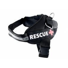 Rescue kutyahám XL 70 - 90 cm, fekete