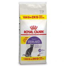 Royal Canin STERILISED 10 kg + 2 kg GRÁTISZ