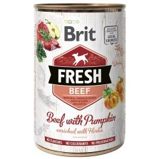 Brit Fresh Beef with Pumpkin konzerv 400 g