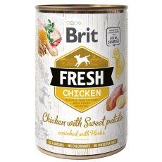 Brit Fresh Chicken with Sweet potato konzerv  400 g