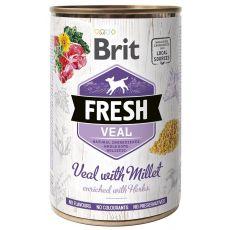 Brit Fresh Veal with Millet konzerv 400 g