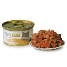 Brit Care Cat Tuna, Carrot & Pea konzerv 80 g
