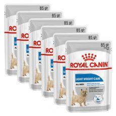 Royal Canin Light Weight Care Dog Loaf alutasakos diétás pástétom kutyák számára 6 x 85 g