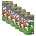 Konzerv Calibra Dog Adult bárány, marha és csirke azpikban,  6 x 1240g