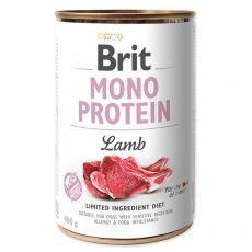 Brit Mono Protein Lamb konzerv, 400 g