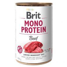 Brit Mono Protein Beef konzerv, 400 g