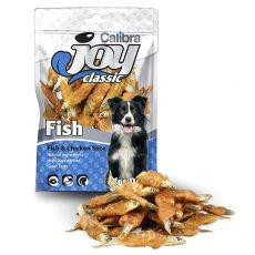 Jutalomfalatok - Calibra Joy Classic Fish & Chicken Slice 80 g