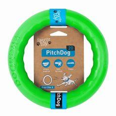 Pitch Dog kutyajáték 20 cm, zöld