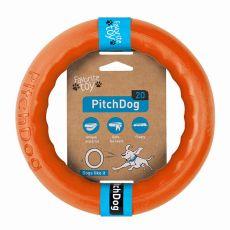 Pitch Dog kutyajáték 20 cm, narancssárga
