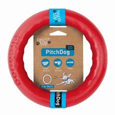 Pitch Dog kutyajáték 20 cm, piros