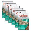 CALIBRA Cat Adult Sterilised máj darabok szószban 6 x 100 g