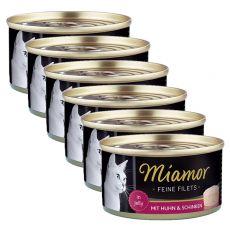 Miamor Filet konzerv csirke és sonka 6 x 100 g