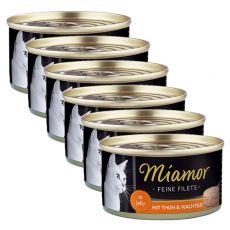 Miamor Filet konzerv csirke és fürjtojás 6 x 100 g