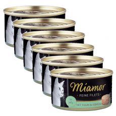 Miamor Filet konzerv tonhal és zöldség 6 x 100 g