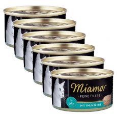 Miamor Filet konzerv tonhal és rizs 6 x 100 g