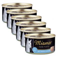 Miamor Filet konzerv tonhal és garnélarák 6 x 100 g