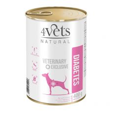 4Vets Natural Veterinary Exclusive DIABETES 400 g