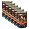 ONTARIO Culinary Calf Ragout with Duck konzerv 6 x 400 g