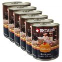 ONTARIO Culinary Chickpea, Chicken and Curry konzerv 6 x 800 g