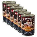 ONTARIO Culinary Chickpea, Chicken and Curry konzerv 6 x 400 g