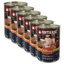 ONTARIO Culinary Chicken Fricasse konzerv 6 x 400 g