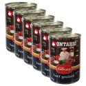 ONTARIO Culinary Beef Goulash konzerv 6 x 400 g