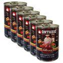 ONTARIO Culinary Minestrone Chicken and Pork konzerv 6 x 400 g
