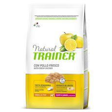 Trainer Natural Small and Toy, Puppy & Junior, csirke 7 kg