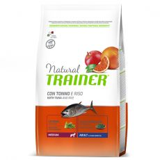 Trainer Natural Medium Adult hal és rizs 12 kg